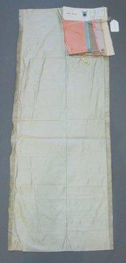 Onondaga Silk Company, Inc. (1925-1981). <em>Textile Swatches</em>, 1948-1959. Silk, a: 18 1/2 x 47 in. (47 x 119.4 cm). Brooklyn Museum, Gift of the Onondaga Silk Company, 64.130.44a-i (Photo: Brooklyn Museum, CUR.64.130.44a-i.jpg)