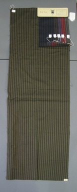 Onondaga Silk Company, Inc. (1925-1981). <em>Textile Swatches</em>, 1948-1959. 87% wool, 13% silk, a: 48 3/4 x 17 in. (123.8 x 43.2 cm). Brooklyn Museum, Gift of the Onondaga Silk Company, 64.130.48a-f (Photo: Brooklyn Museum, CUR.64.130.48a-f.jpg)