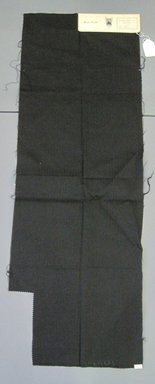 Onondaga Silk Company, Inc. (1925-1981). <em>Textile Swatches</em>, 1948-1959. 90% worsted wool, 10% silk, 48 1/2 x 17 in. (123.2 x 43.2 cm). Brooklyn Museum, Gift of the Onondaga Silk Company, 64.130.49 (Photo: Brooklyn Museum, CUR.64.130.49.jpg)