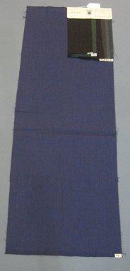 Onondaga Silk Company, Inc. (1925-1981). <em>Textile Swatches</em>, 1948-1959. 87% wool, 13% silk, 47 1/2 x 17 1/4 in. (120.7 x 43.8 cm). Brooklyn Museum, Gift of the Onondaga Silk Company, 64.130.640 (Photo: Brooklyn Museum, CUR.64.130.640.jpg)