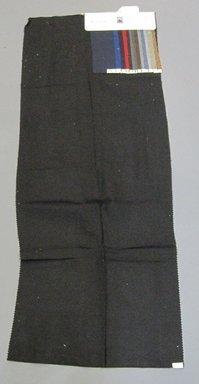 Onondaga Silk Company, Inc. (1925-1981). <em>Textile Swatches</em>, 1948-1959. cotton, silk, 44 1/2 x 17 in. (113 x 43.2 cm). Brooklyn Museum, Gift of the Onondaga Silk Company, 64.130.665 (Photo: Brooklyn Museum, CUR.64.130.665.jpg)