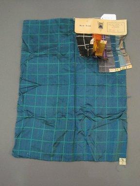 Onondaga Silk Company, Inc. (1925-1981). <em>Textile Swatches</em>, 1948-1959. Silk, 24 x 17 in. (61 x 43.2 cm). Brooklyn Museum, Gift of the Onondaga Silk Company, 64.130.710 (Photo: Brooklyn Museum, CUR.64.130.710.jpg)