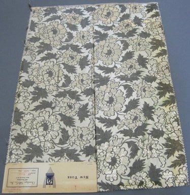 Onondaga Silk Company, Inc. (1925-1981). <em>Textile Swatches</em>, 1948-1959. 72% acetate; 16% rayon; 12% metal, 25 x 18 in. (63.5 x 45.7 cm). Brooklyn Museum, Gift of the Onondaga Silk Company, 64.130.93 (Photo: Brooklyn Museum, CUR.64.130.93.jpg)