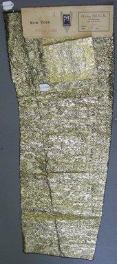 Onondaga Silk Company, Inc. (1925-1981). <em>Textile Swatches</em>, 1948-1959. silk; metal, largest component (a): 35 x 11 in. (88.9 x 27.9 cm). Brooklyn Museum, Gift of the Onondaga Silk Company, 64.130.97a-b (Photo: Brooklyn Museum, CUR.64.130.97a-b.jpg)