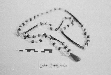 <em>Long String</em>. Beads, seeds Brooklyn Museum, Gift of Ingeborg de Beausacq, 64.248.46. Creative Commons-BY (Photo: Brooklyn Museum, CUR.64.248.46_bw.jpg)