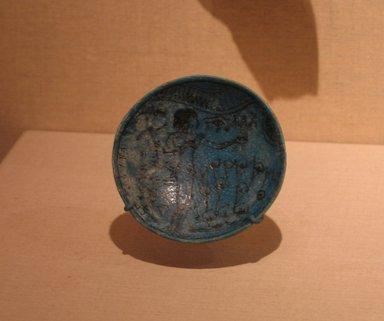 <em>Bowl</em>, ca. 1295-1185 B.C.E. Faience Brooklyn Museum, Charles Edwin Wilbour Fund, 66.172. Creative Commons-BY (Photo: Brooklyn Museum, CUR.66.172_wwg8.jpg)