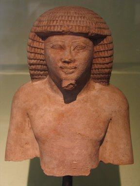 Egyptian. <em>A Prince of Tekhet</em>, ca. 1479-1400 B.C.E. Limestone, 7 1/8 x 5 7/8 x 4 5/16 in. (18.1 x 14.9 x 10.9 cm). Brooklyn Museum, Charles Edwin Wilbour Fund, 66.1. Creative Commons-BY (Photo: Brooklyn Museum, CUR.66.1_erg456.jpg)