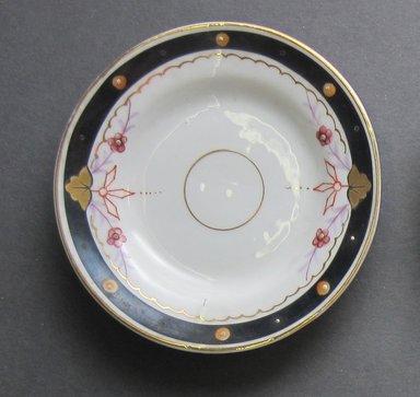 <em>Child's Dish</em>, ca. 1880. Porcelain, 3 3/8 in. (8.6 cm). Brooklyn Museum, Gift of Amelia Beard Hollenback, 66.25.10. Creative Commons-BY (Photo: Brooklyn Museum, CUR.66.25.10.jpg)