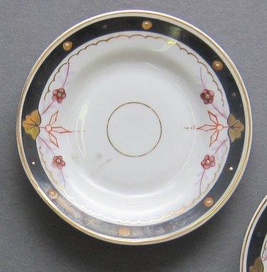 <em>Child's Dish</em>, ca. 1880. Porcelain, 3 3/8 in. (8.6 cm). Brooklyn Museum, Gift of Amelia Beard Hollenback, 66.25.11. Creative Commons-BY (Photo: Brooklyn Museum, CUR.66.25.11.jpg)