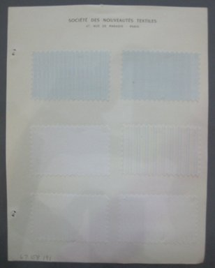 Fab-Tex Inc.. <em>Fabric Swatch</em>, 1963-1966. Silk, sheet: 8 1/4 x 10 1/2 in. (21 x 26.7 cm). Brooklyn Museum, Gift of Fab-Tex Inc., 67.158.191 (Photo: Brooklyn Museum, CUR.67.158.191.jpg)