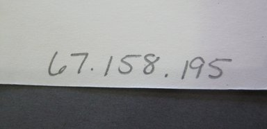 Fab-Tex Inc.. <em>Fabric Swatch</em>, 1963-1966. Cotton and/or synthetic, sheet: 8 1/4 x 9 1/2 in. (21 x 24.1 cm). Brooklyn Museum, Gift of Fab-Tex Inc., 67.158.195 (Photo: Brooklyn Museum, CUR.67.158.195_documentation.jpg)