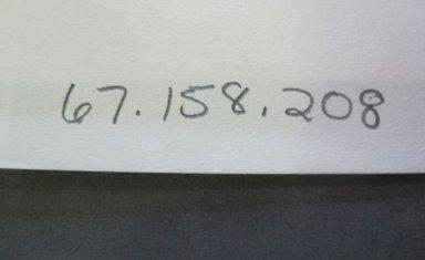 Fab-Tex Inc.. <em>Fabric Swatch</em>, 1963-1966. Cotton, sheet: 8 1/4 x 10 1/2 in. (21 x 26.7 cm). Brooklyn Museum, Gift of Fab-Tex Inc., 67.158.208 (Photo: Brooklyn Museum, CUR.67.158.208_documentation.jpg)