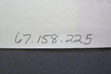 Fab-Tex Inc.. <em>Fabric Swatch</em>, 1963-1966. Silk, sheet: 8 1/4 x 10 1/2 in. (21 x 26.7 cm). Brooklyn Museum, Gift of Fab-Tex Inc., 67.158.225 (Photo: Brooklyn Museum, CUR.67.158.225_documentation.jpg)