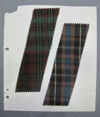 Fab-Tex Inc.. <em>Fabric Swatch</em>, 1963-1966. Cotton, sheet: 8 1/4 x 9 1/4 in. (21 x 23.5 cm). Brooklyn Museum, Gift of Fab-Tex Inc., 67.158.90 (Photo: Brooklyn Museum, CUR.67.158.90.jpg)