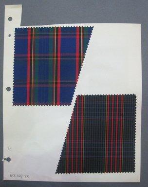 Fab-Tex Inc.. <em>Fabric Swatch</em>, 1963-1966. Cotton, sheet: 8 1/4 x 10 1/2 in. (21 x 26.7 cm). Brooklyn Museum, Gift of Fab-Tex Inc., 67.158.93 (Photo: Brooklyn Museum, CUR.67.158.93.jpg)