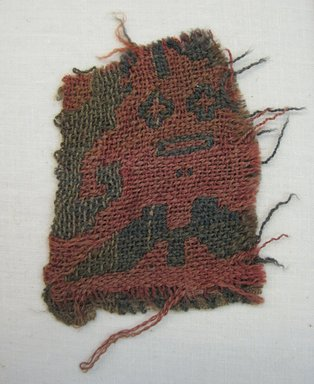 Chancay. <em>Textile Fragment, undetermined</em>, 600-1532. Camelid fiber, 2 3/4 × 2 1/4 in. (7 × 5.7 cm). Brooklyn Museum, Gift of Adelaide Goan, 67.159.24. Creative Commons-BY (Photo: Brooklyn Museum, CUR.67.159.24.jpg)