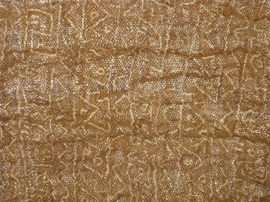 Chimú. <em>possible Headcloth, Fragment or Textile Fragment, undetermined</em>, 1000-1532. Cotton, (39.0 x 46.0 cm). Brooklyn Museum, Gift of Adelaide Goan, 67.159.27. Creative Commons-BY (Photo: Brooklyn Museum, CUR.67.159.27_detail1.jpg)