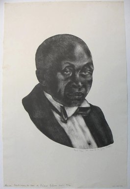 George Biddle (American, 1885-1973). <em>Frankie Loper, Aet. Suae 86</em>, 1937. Lithograph, 12 x 9 1/2 in. (30.5 x 24.1 cm). Brooklyn Museum, Gift of George Biddle, 67.185.37. © artist or artist's estate (Photo: Brooklyn Museum, CUR.67.185.37.jpg)