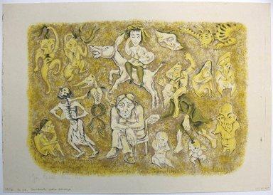 George Biddle (American, 1885-1973). <em>Considerate La Vostra Semenze</em>, 1951. Lithograph, 11 1/4 x 16 in. (28.6 x 40.6 cm). Brooklyn Museum, Gift of George Biddle, 67.185.45. © artist or artist's estate (Photo: Brooklyn Museum, CUR.67.185.45.jpg)