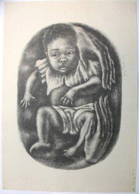 George Biddle (American, 1885-1973). <em>Virginia</em>, 1952. Lithograph, 10 1/2 x 15 in. (26.7 x 38.1 cm). Brooklyn Museum, Gift of George Biddle, 67.185.55. © artist or artist's estate (Photo: Brooklyn Museum, CUR.67.185.55.jpg)