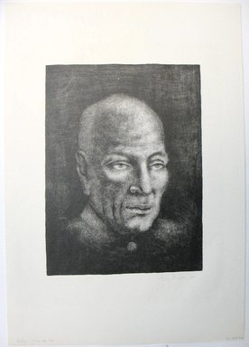 George Biddle (American, 1885-1973). <em>Nehru</em>, 1959. Lithograph, 11 7/8 x 8 7/8 in. (30.2 x 22.5 cm). Brooklyn Museum, Gift of George Biddle, 67.185.72. © artist or artist's estate (Photo: Brooklyn Museum, CUR.67.185.72.jpg)