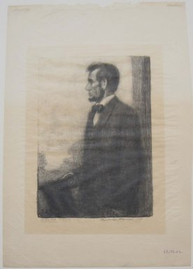 Boardman Robinson (American, 1876-1952). <em>Abraham Lincoln</em>, 1911. Lithograph, image: 9 7/16 x 6 3/4 in. (24 x 17.2 cm). Brooklyn Museum, Gift of Mrs. Edwin De T. Bechtel, 68.192.42 (Photo: Brooklyn Museum, CUR.68.192.42.jpg)