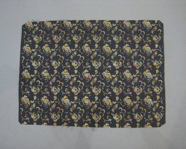 <em>Textile Swatch</em>, 1950s to 1960s. Silk, 20 3/4 x 15 1/4 in. (52.7 x 38.7 cm). Brooklyn Museum, Gift of Mrs. Robert G. Olmsted and Constable MacCracken, 69.149.81.74 (Photo: Brooklyn Museum, CUR.69.149.81.74.jpg)