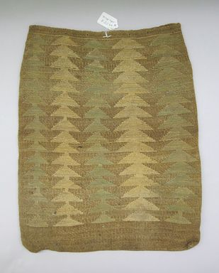 Nez Perce. <em>Twined Bag</em>, early 20th century. Corn husk, wool, 17 13/16 x 14 9/16in. (45.3 x 37cm). Brooklyn Museum, Gift of Mr. and Mrs. Francis T. Christy, 69.55.8. Creative Commons-BY (Photo: , CUR.69.55.8_view01.jpg)