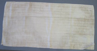 American. <em>Pillow Slip</em>, early 19th century. Linen, 33 1/2 x 16 1/2 in. (85.1 x 41.9 cm). Brooklyn Museum, Gift of Theodora Briggs, 70.163.5. Creative Commons-BY (Photo: Brooklyn Museum, CUR.70.163.5.jpg)