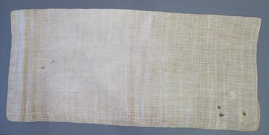 American. <em>Pillow Slip</em>, early 19th century. Linen, 36 x 16 1/2 in. (91.4 x 41.9 cm). Brooklyn Museum, Gift of Theodora Briggs, 70.163.6. Creative Commons-BY (Photo: Brooklyn Museum, CUR.70.163.6.jpg)