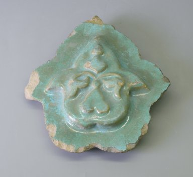 <em>Tile</em>, 13th century. Ceramic, 6 11/16 x 13/16 x 7 11/16 in. (17 x 2 x 19.5 cm). Brooklyn Museum, Gift of Mr. and Mrs. Charles K. Wilkinson, 71.194.3. Creative Commons-BY (Photo: Brooklyn Museum, CUR.71.194.3.jpg)