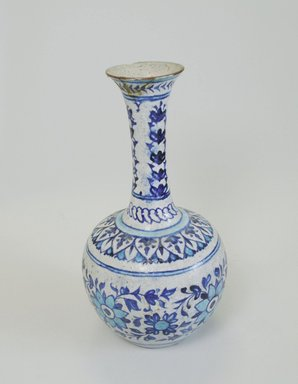 <em>Vase</em>, 19th century. Ceramic, 12 x 6 7/16 in. (30.5 x 16.3 cm). Brooklyn Museum, Gift of Alvin Devereux, 72.85.2. Creative Commons-BY (Photo: Brooklyn Museum, CUR.72.85.2_view1.jpg)
