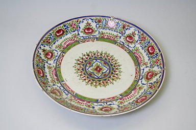 <em>Dish</em>, 19th century. Decorated ceramic, 2 1/4 x 13 in. (5.7 x 33 cm). Brooklyn Museum, Gift of Mr. and Mrs. Charles K. Wilkinson, 74.102.4. Creative Commons-BY (Photo: Brooklyn Museum, CUR.74.102.4.jpg)