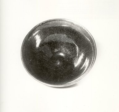 <em>Bowl</em>, 960-1279. Porcelain, glaze, 2 3/4 x 6 1/8 in. (7 x 15.5 cm). Brooklyn Museum, Gift of Faith D. Waterman and Arthrur J. Waterman, Jr. in memory of Jeannette B. Rogers, 74.206. Creative Commons-BY (Photo: Brooklyn Museum, CUR.74.206_top_bw.jpg)