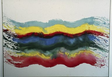 Pat Lipsky (American, born 1941). <em>Sandwich</em>, 1969. Acrylic on canvas, 86 × 116 7/8 in. (218.4 × 296.9 cm). Brooklyn Museum, Gift of Peter Bienstock, 75.66. © artist or artist's estate (Photo: Photograph courtesy of the artist and Andre Emmerich Gallery, CUR.75.66_Andre_Emmerich_Gallery_photo.jpg)