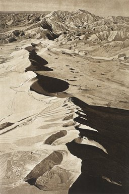 Stephen McMillan (American, born 1949). <em>Desert Wanderer</em>, 1976. Aquatint, sheet: 30 x 22 in. (76.2 x 55.9 cm). Brooklyn Museum, Gift of ADI Gallery, 77.152.1. © artist or artist's estate (Photo: Image courtesy of Stephen McMillan, CUR.77.152.1_StephenMcmillan_photograph.jpg)