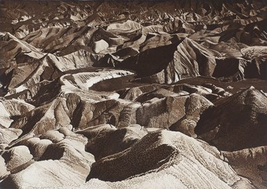 Stephen McMillan (American, born 1949). <em>Zabriskie Point, 1976</em>, 1976. Aquatint on paper, sheet: 22 1/8 x 29 3/4 in. (56.2 x 75.6 cm). Brooklyn Museum, Gift of ADI Gallery, 77.152.2. © artist or artist's estate (Photo: Image courtesy of Stephen McMillan, CUR.77.152.2_StephenMcmillan_photograph.jpg)