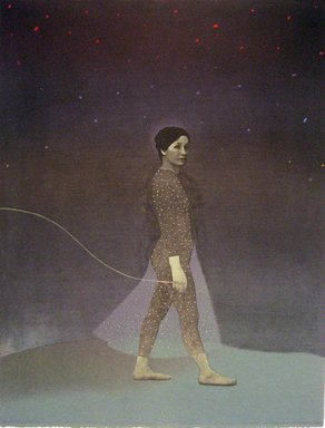 Minna Resnick (American, born 1946). <em>Journey I</em>, 1975. Lithograph, 22 1/2 x 17 in. (57.2 x 43.2 cm). Brooklyn Museum, Designated Purchase Fund, 77.235. © artist or artist's estate (Photo: image courtesy of Minna Resnick, CUR.77.235_MinnaResnick_photograph.jpg)