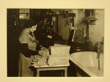 Lewis Wickes Hine (American, 1874-1940). <em>[Untitled] (Women Preparing Thread)</em>, 1936-1937. Gelatin silver photograph, 4 3/4 x 7 1/4 in.  (12.1 x 18.4 cm). Brooklyn Museum, Gift of the National Archives, 79.143.78 (Photo: Brooklyn Museum, CUR.79.143.78.jpg)