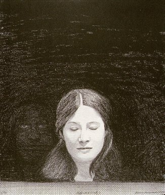 Minna Resnick (American, born 1946). <em>Observer V</em>, 1979. Lithograph on paper, 15 x 13 1/8 in. (38.1 x 33.3 cm). Brooklyn Museum, Gift of the artist, 80.230. © artist or artist's estate (Photo: image courtesy of Minna Resnick, CUR.80.230_MinnaResnick_photograph.jpg)