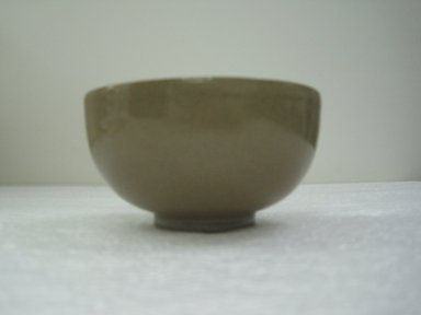 <em>Bowl</em>, 1800. Earthenware, Awata ware, 2 3/8 x 4 13/16 in. (6 x 12.3 cm). Brooklyn Museum, Gift of John M. Lyden, 82.184.2. Creative Commons-BY (Photo: Brooklyn Museum, CUR.82.184.2_side.jpg)