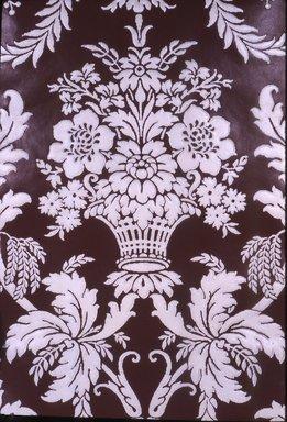 Attributed to J. Z. Zuber & Cie.. <em>Wallpaper</em>, ca. 1890. Paper, 19 5/8 x 25 3/4 in. (49.8 x 65.4 cm). Brooklyn Museum, Gift of Arlene M. and Thomas C. Ellis, 82.239.10 (Photo: Brooklyn Museum, CUR.82.239.10.jpg)