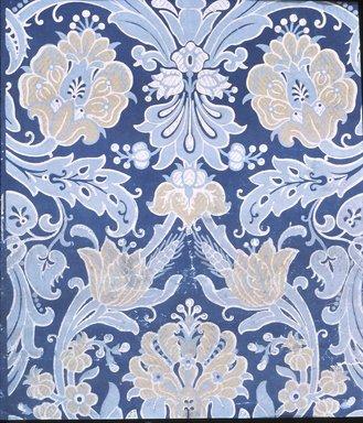 Jeffrey & Co.. <em>Wallpaper</em>, ca. 1885. Paper, 19 3/4 x 24 in. (50.2 x 61.0 cm). Brooklyn Museum, Gift of Arlene M. and Thomas C. Ellis, 82.239.18 (Photo: Brooklyn Museum, CUR.82.239.18.jpg)