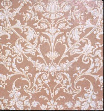 Jeffrey & Co.. <em>Wallpaper</em>, ca. 1900. Paper, 22 1/2 x 24 1/4 in. (57.2 x 61.6 cm). Brooklyn Museum, Gift of Arlene M. and Thomas C. Ellis, 82.239.23 (Photo: Brooklyn Museum, CUR.82.239.23.jpg)