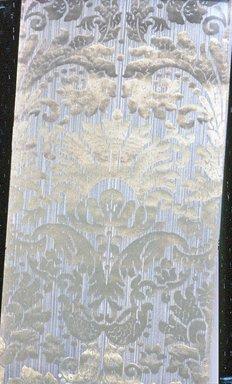 Attributed to Desfosse & Karth. <em>Wallpaper</em>, ca. 1885. Paper, 22 3/8 x 43 3/8 in. (56.8 x 110.1 cm). Brooklyn Museum, Gift of Arlene M. and Thomas C. Ellis, 82.239.27 (Photo: Brooklyn Museum, CUR.82.239.27.jpg)