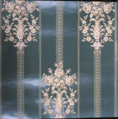 J. Z. Zuber & Cie.. <em>Wallpaper</em>, ca. 1900. Paper, 19 1/2 x 22 5/8 in. (49.5 x 57.5 cm). Brooklyn Museum, Gift of Arlene M. and Thomas C. Ellis, 82.239.39 (Photo: Brooklyn Museum, CUR.82.239.39.jpg)