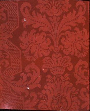 J. Z. Zuber & Cie.. <em>Wallpaper</em>, ca. 1900. Paper, 22 1/4 x 23 1/8 in. (56.5 x 58.7 cm). Brooklyn Museum, Gift of Arlene M. and Thomas C. Ellis, 82.239.42 (Photo: Brooklyn Museum, CUR.82.239.42.jpg)