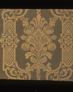 J. Z. Zuber & Cie.. <em>Wallpaper</em>, ca. 1900. Paper, 19 5/8 x 17 in. (49.8 x 43.2 cm). Brooklyn Museum, Gift of Arlene M. and Thomas C. Ellis, 82.239.44 (Photo: Brooklyn Museum, CUR.82.239.44.jpg)