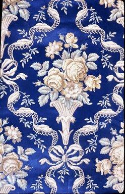 J. Z. Zuber & Cie.. <em>Wallpaper, pattern Embossed No.458B</em>, ca. 1890. Paper, 19 3/4 x 35 in. (50.2 x 88.9 cm). Brooklyn Museum, Gift of Arlene M. and Thomas C. Ellis, 82.239.5 (Photo: Brooklyn Museum, CUR.82.239.5.jpg)