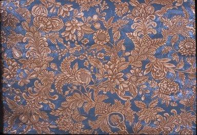 <em>Wallpaper</em>, ca. 1890. Paper, 25 x 37 1/2 in. (63.5 x 95.2 cm). Brooklyn Museum, Gift of Arlene M. and Thomas C. Ellis, 82.239.55 (Photo: Brooklyn Museum, CUR.82.239.55.jpg)